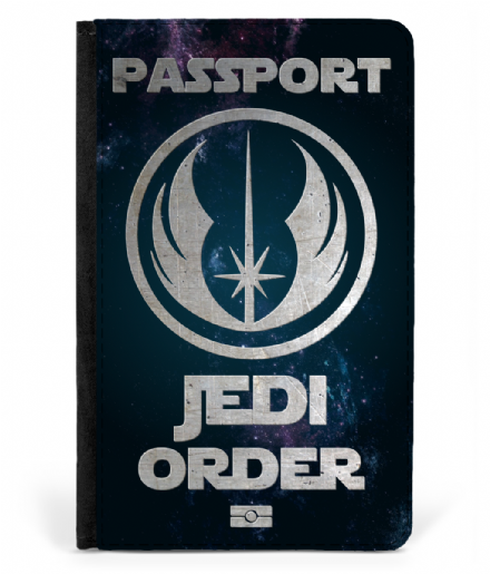 Star Wars Jedi Order Faux Leather Passport Cover Protector